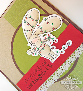 I'm Already on the Naughty List card-designed by Lori Tecler/Inking Aloud-stamps from The Cat's Pajamas