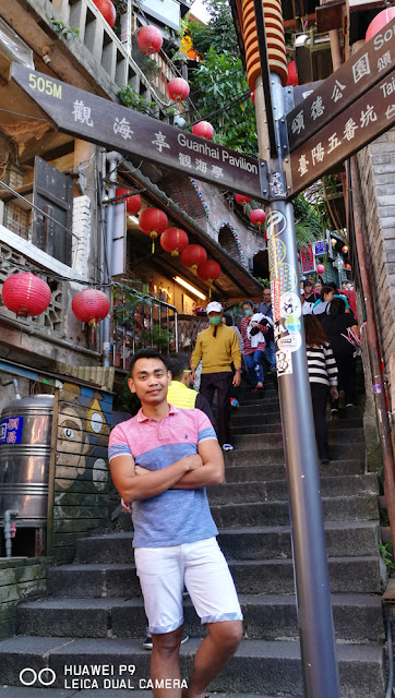 A mandatory shot at the street of Jiufen