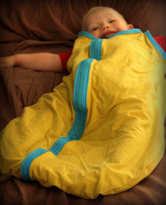 DIY Summer Sleep Sack for Baby