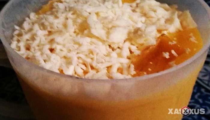 Resep cara membuat jus mangga keju