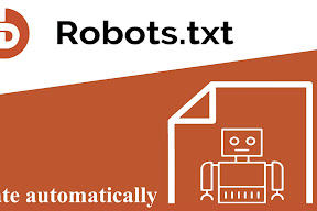 Tạo robots txt tự động cho Blogger - Blogspot