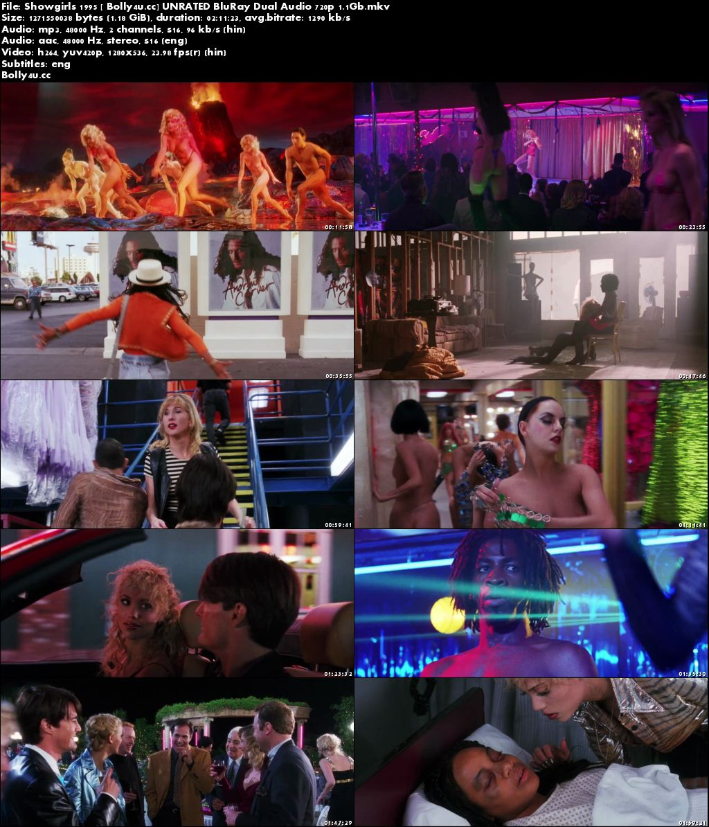 Showgirls 1995 UNRATED BluRay Hindi Dual Audio 720p Download