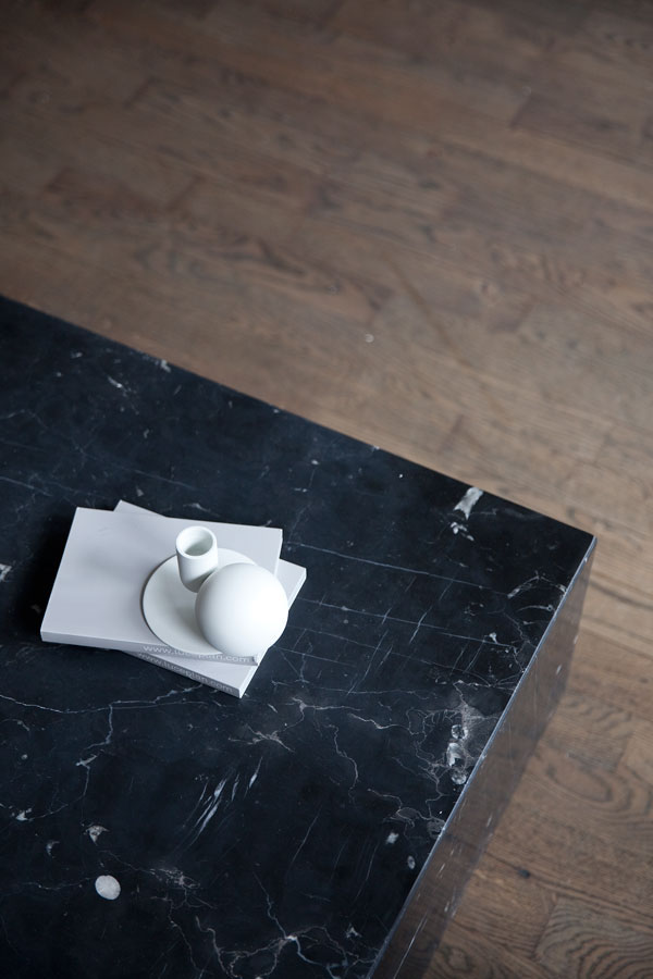 Vosgesparis Plinth Marble Cubes By Norm Architects For MENU - Marble cube coffee table