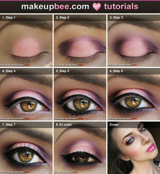 Maquillaje De Noche Para Vestido Rosa Vestidos Destacados
