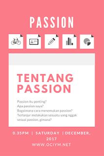 Tentang Passion