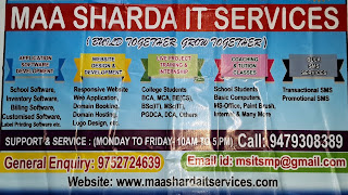 Maa Sharda IT Services (MSITS) Software and Website Design and Developer, Maihar, Satna (M.P.)