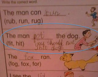 Funniest Kid Test Answers