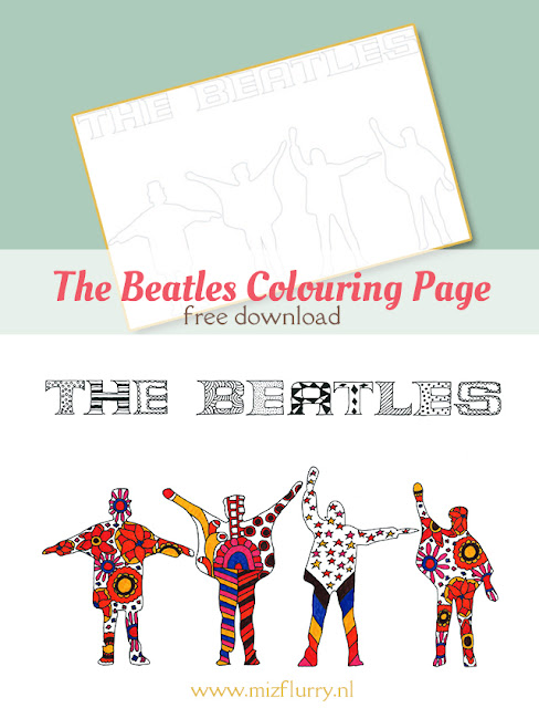 the beatles zentagle free printable pinterest