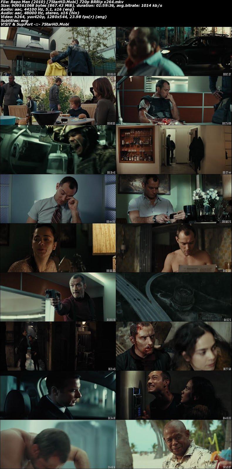 Repo Men (2010) Dual Audio 720p BluRay x264 [Hindi + English] ESubs 2
