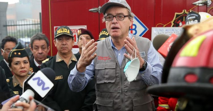 Renuncia Ministro del Interior Carlos Basombrío