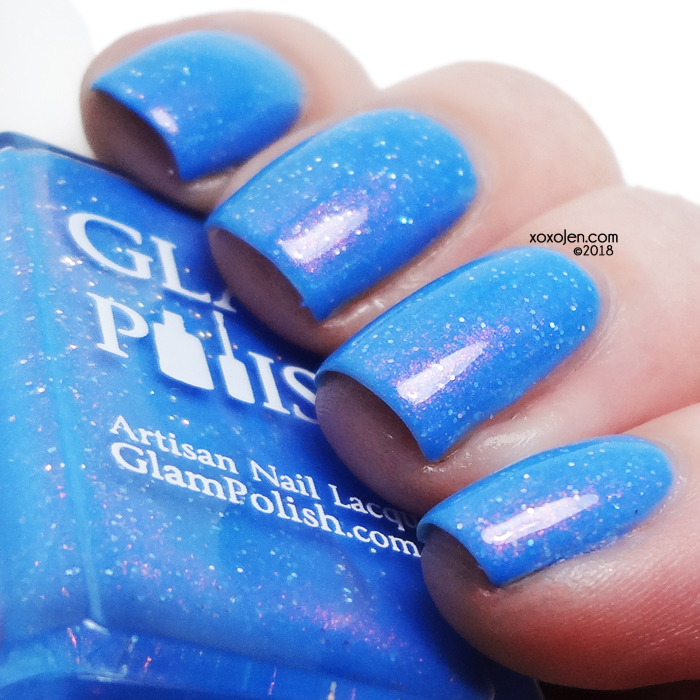 xoxoJen's swatch of Glam Polish Aloha 'Oe