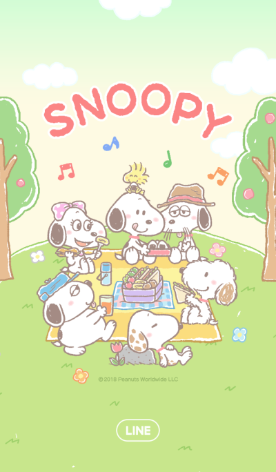 Lovely Snoopy
