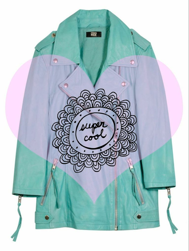 Pastel Biker Jacket