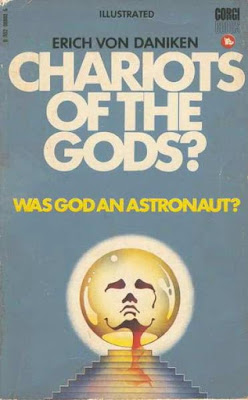 book cover, Chariots of the Gods