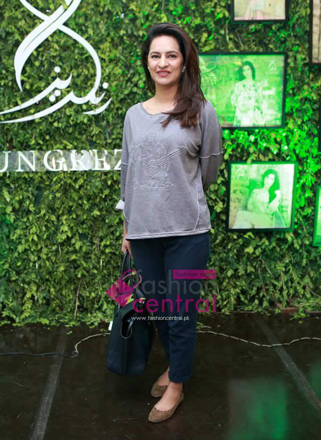 Launching of Rungrez Lawn in Lahore