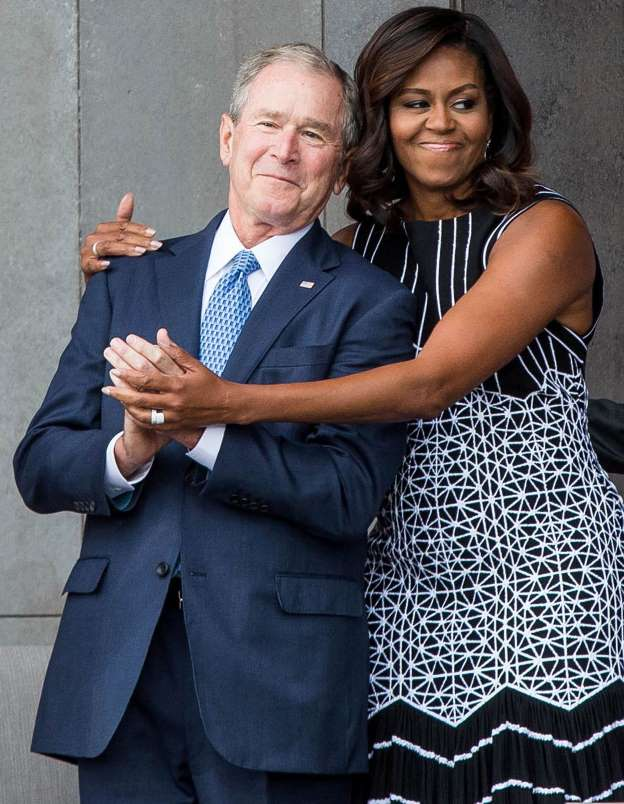 George W. Bush Breaks Down His Affection for Michelle Obama: 'We Just Took to Each Other'