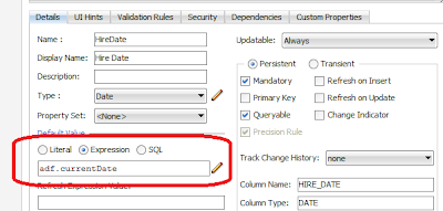 Oracle ADF and Jasper ireport Tips: How to set default