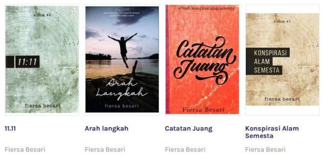 Download Buku (Ebook Gratis) Karya Fiersa Besari PDF Lengkap