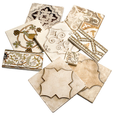 Pile of tile