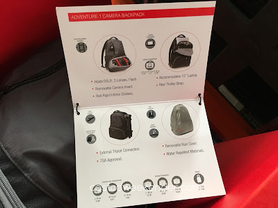 Costco 615903 - Manfrotto Adventure 1 Camera Backpack: great for professional photographers or amatuer hobbyists