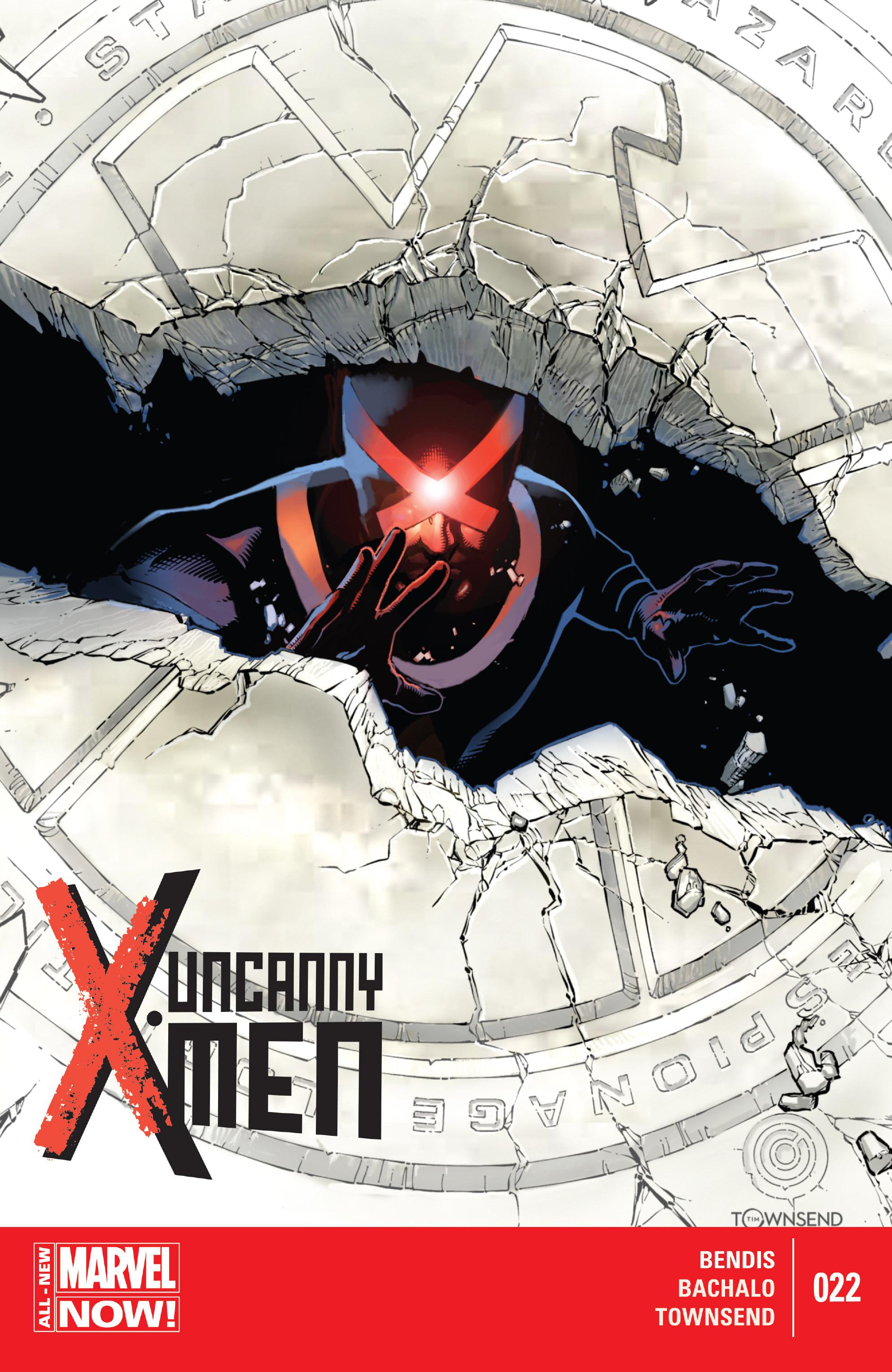 Read online Uncanny X-Men (2013) comic -  Issue #22 - 1