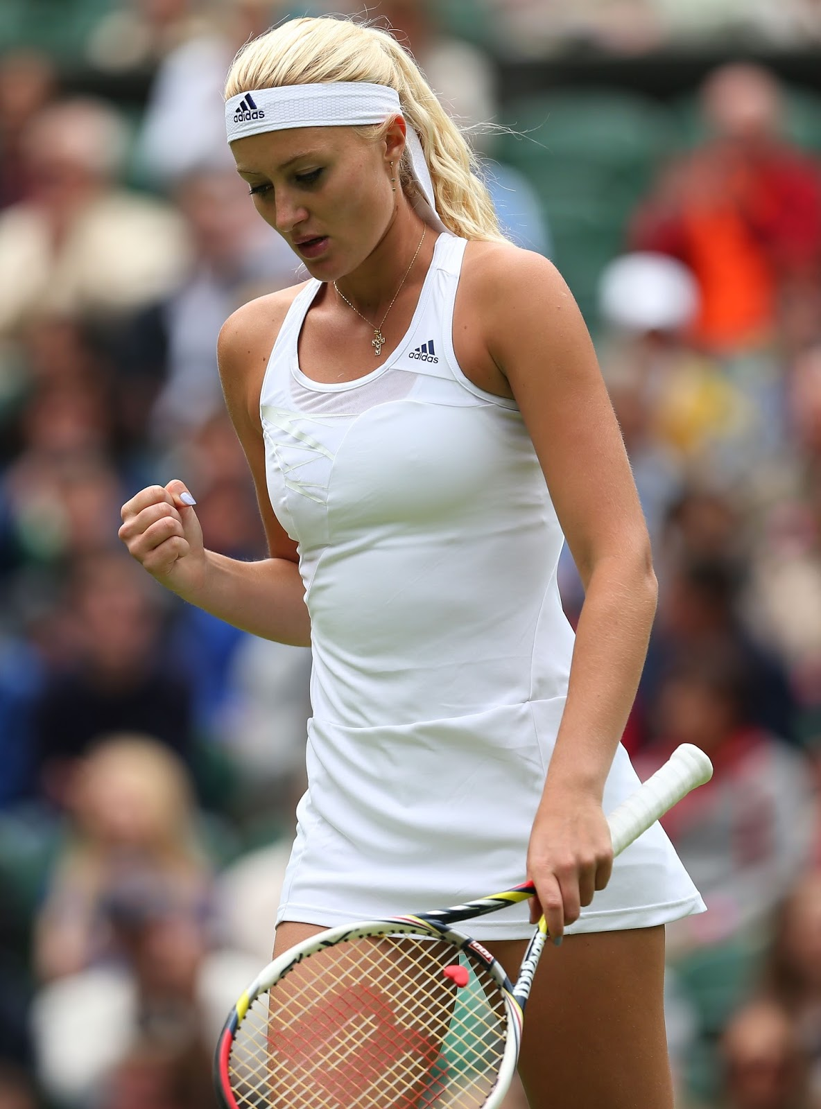 Kristina Mladenovic - Beauty And Hot French Tennis Player -7201