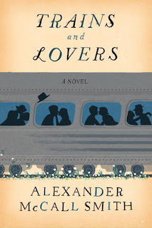 Trains and Lovers by Alexander McCall Smith. A quiet, lovely book about four people who end up sharing their love stories with each other on a train. Via Diamonds in the Library.