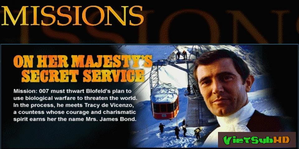 Phim Điệp Viên 007: Điệp Vụ Nữ Hoàng Trailer VietSub HD | Bond 6: On Her Majesty's Secret Service 1969