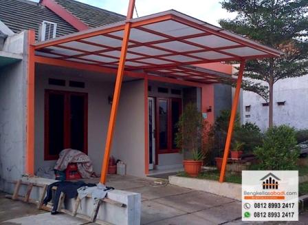 pasang canopy baja ringan depok jasa bengkel las citayam hubungi 0812 8993 2417
