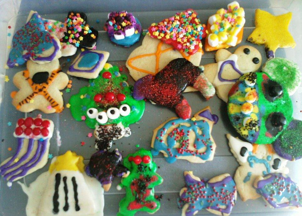 Kids Christmas Cookies