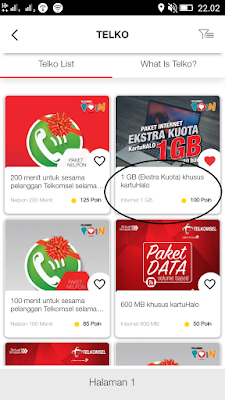 paket data dari telkomsel poin guys