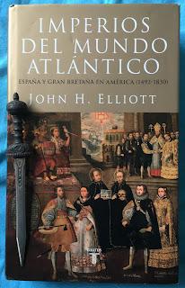 Portada del libro Imperios del mundo atlántico, de John H. Elliot