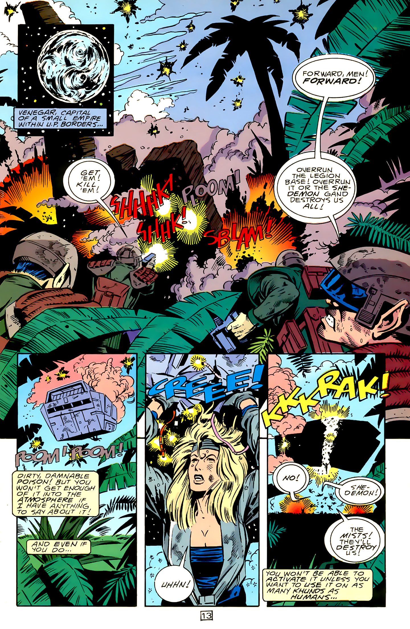 Legion of Super-Heroes (1989) 15 Page 13
