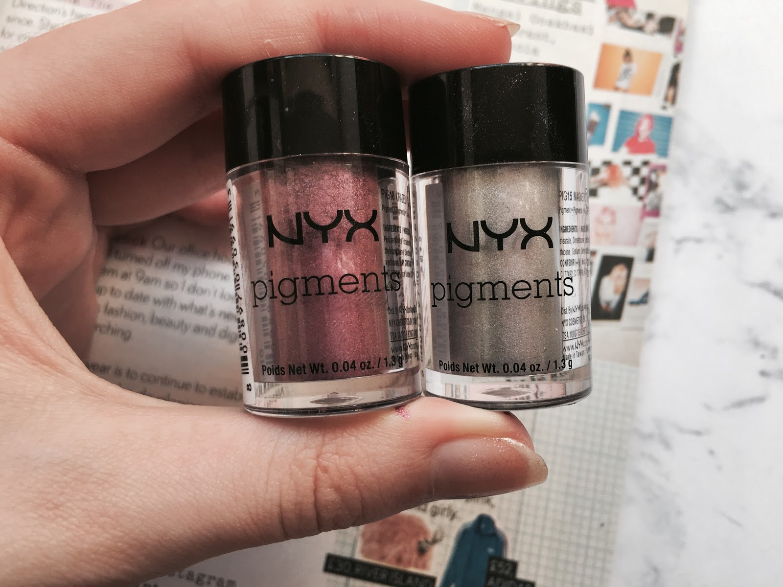 nyx pigment review everything erin