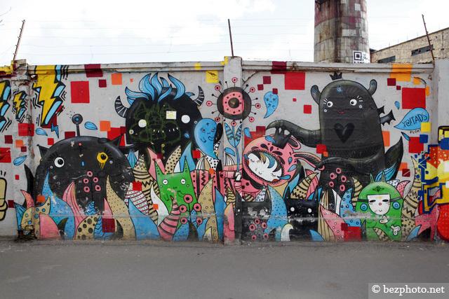 граффити санкт петербург