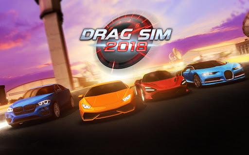 تحميل لعبة Drag Sim 2018 مهكرة نقود لا نهاية بأخر تحديث