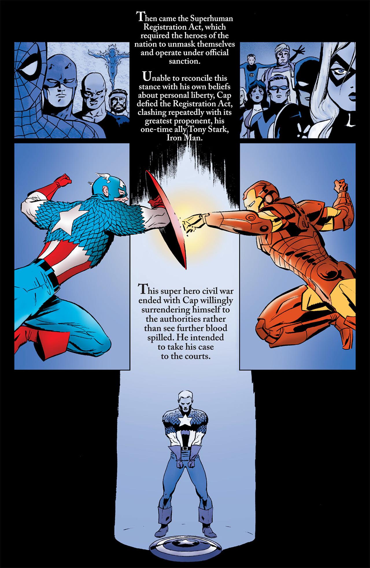 Read online Captain America (2005) comic -  Issue #50 - 36