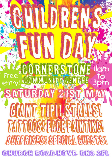 Children's Fun Day - Sat 21st May