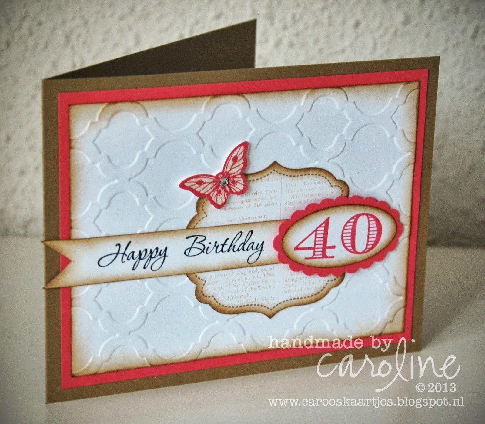 happy 40th birthday. Black Bedroom Furniture Sets. Home Design Ideas