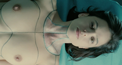 The Skin I Live In 2011 film Pedro Almoldovar screenshot elena anaya vera skin graft pen