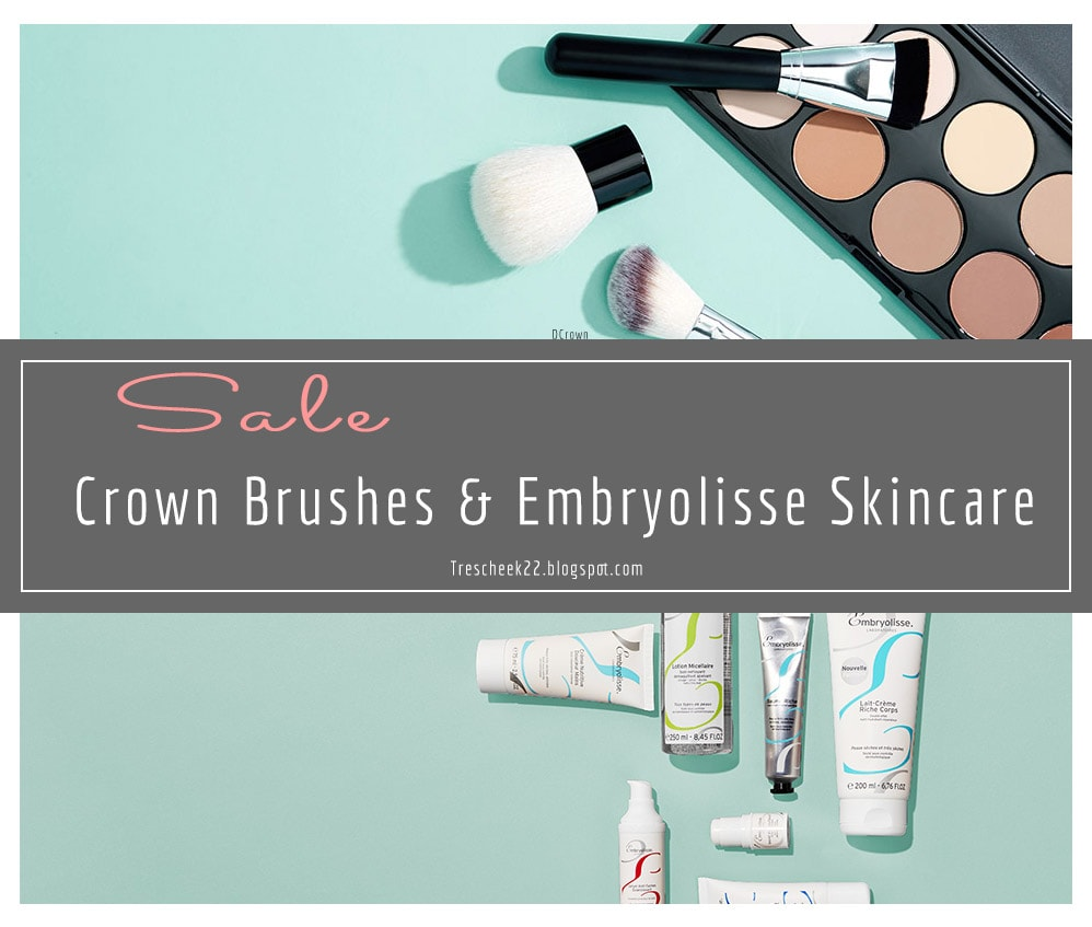 Deal Alert: Crown Brushes and Embryolisse Skincare on Sale