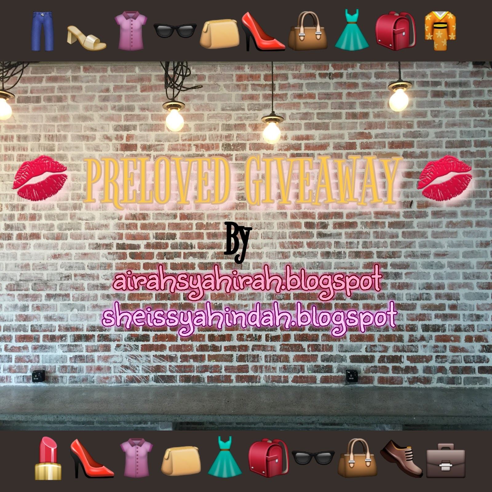 PRELOVED GIVEAWAY OLEH AA