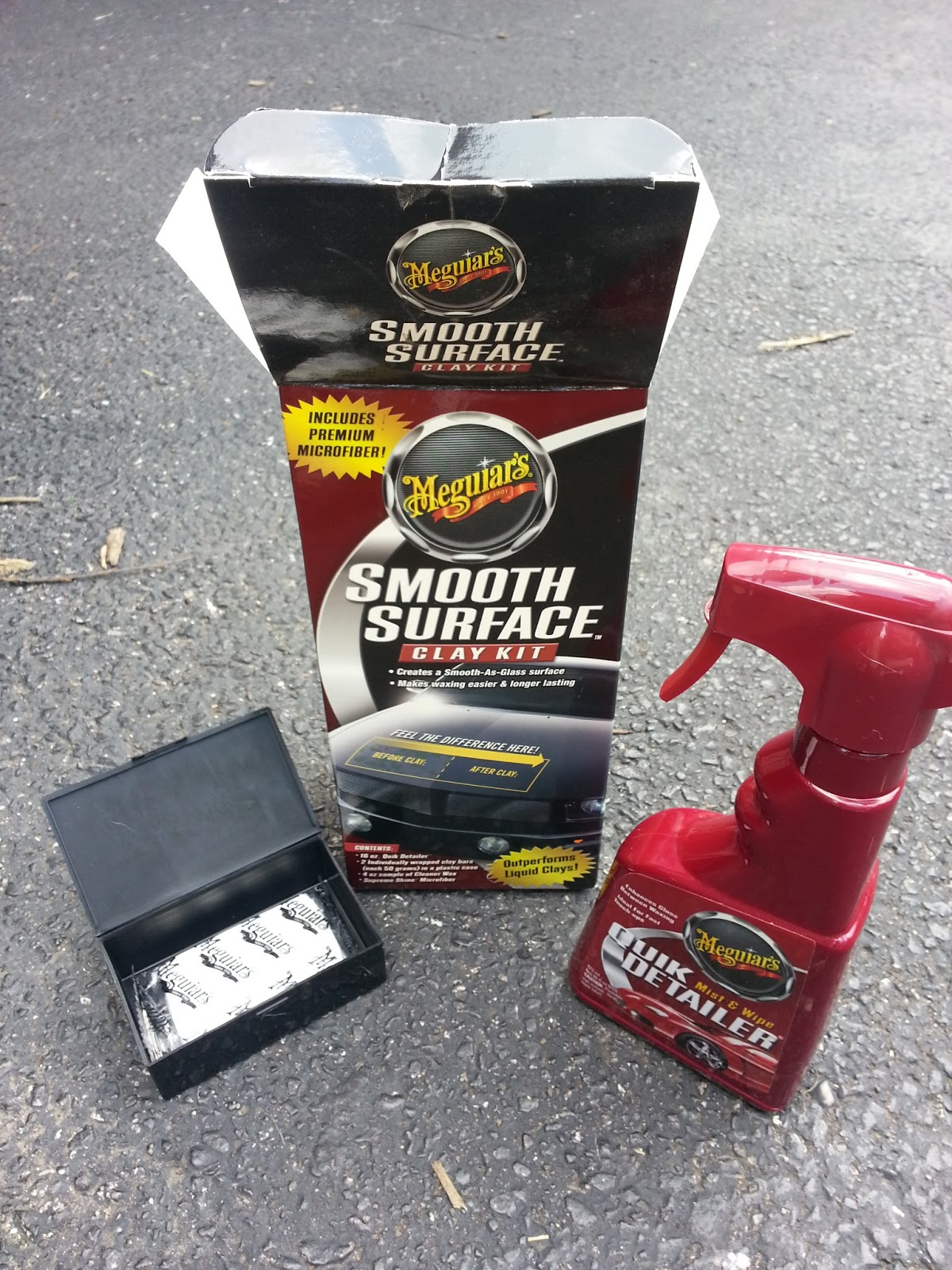 My Future Past: Unsolicited product review: Meguiars Clay Bar