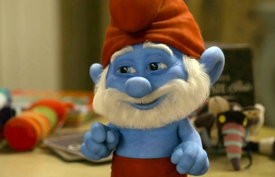 Papa Smurf Smurfs 2 animatedfilmreviews.filminspector.com