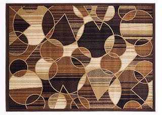 Bold area rug