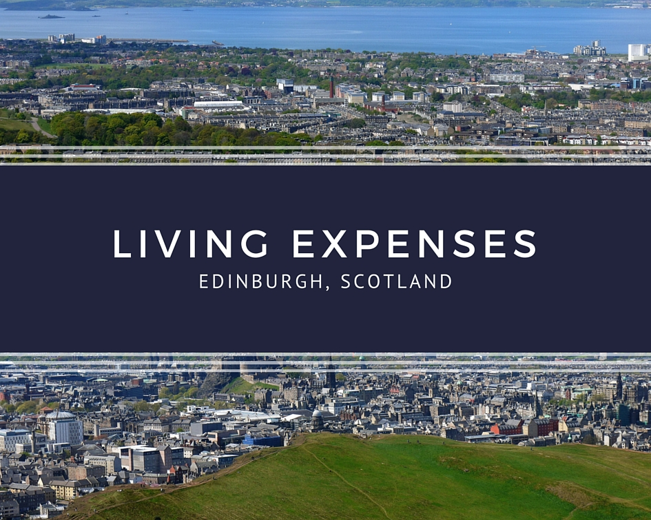 Living expenses in Edinburgh