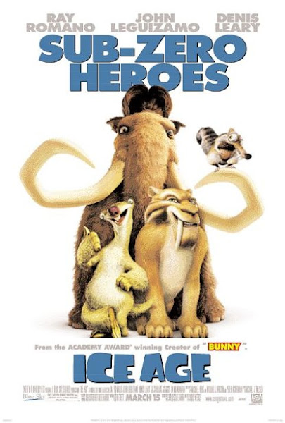 Poster Of Ice Age 2002 720p Hindi BRRip Dual Audio Full Movie Download