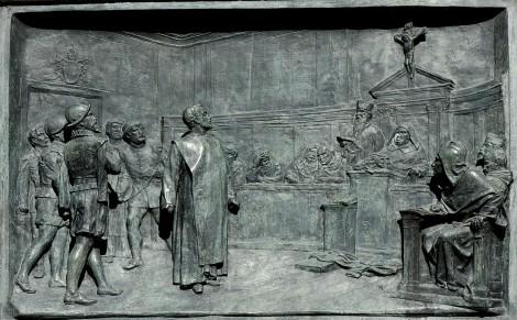 Proceso a Giordano Bruno