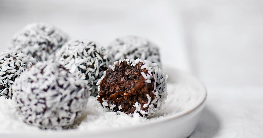 Chocolate Coconut Bliss Balls Occasionally Eggs