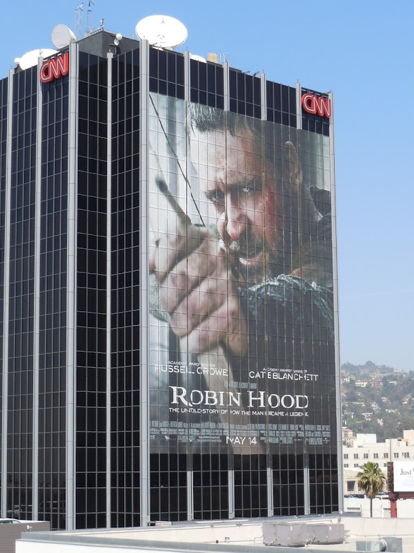 Robin Hood 2010 movie billboard